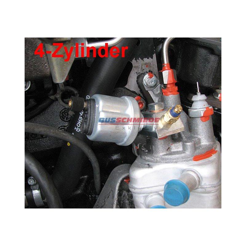 Tempe Volkswagen: T3 / T4 / T5 / T6 Adapterblock Für Öldruck Und